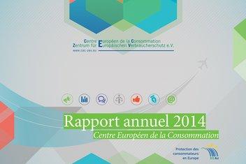 Couverture du rapport annuel 2014 du CEC.
