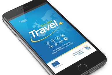 « ECC-Net: Travel » : l'application gratuite du réseau des Centres Européens des Consommateurs pour faire appliquer vos droits en Europe.