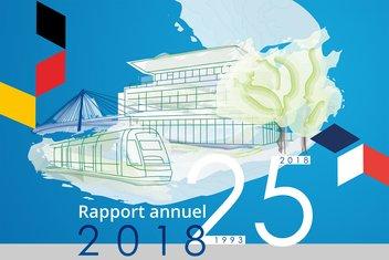 Couverture du rapport annuel 2018 du CEC.