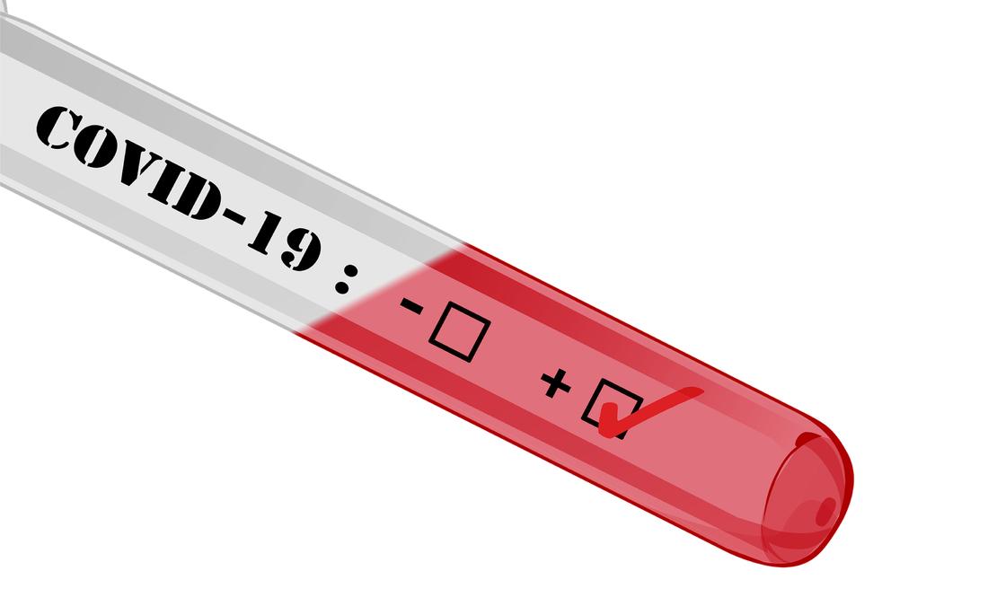 Tube de test Covid-19